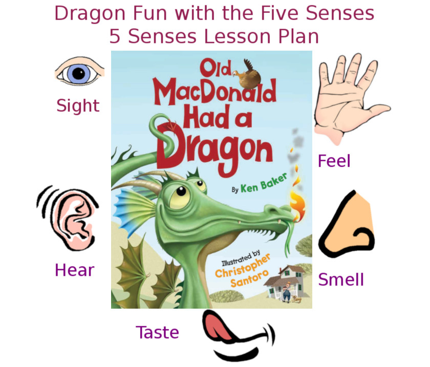 Dragon Fun Learning the Five Senses Lesson Plan